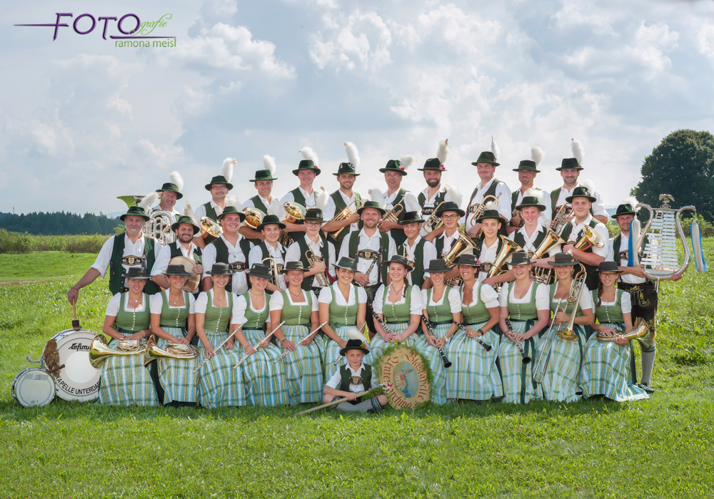 Blaskapelle-Gruppenfoto