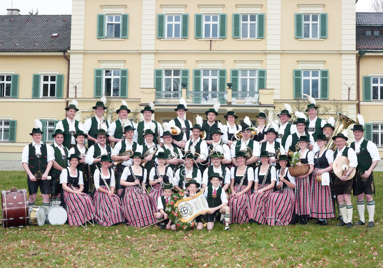 Gruppenbild Musikkapelle