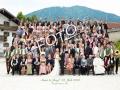 Gruppenbuidl-Hochzeitsgruppenfoto