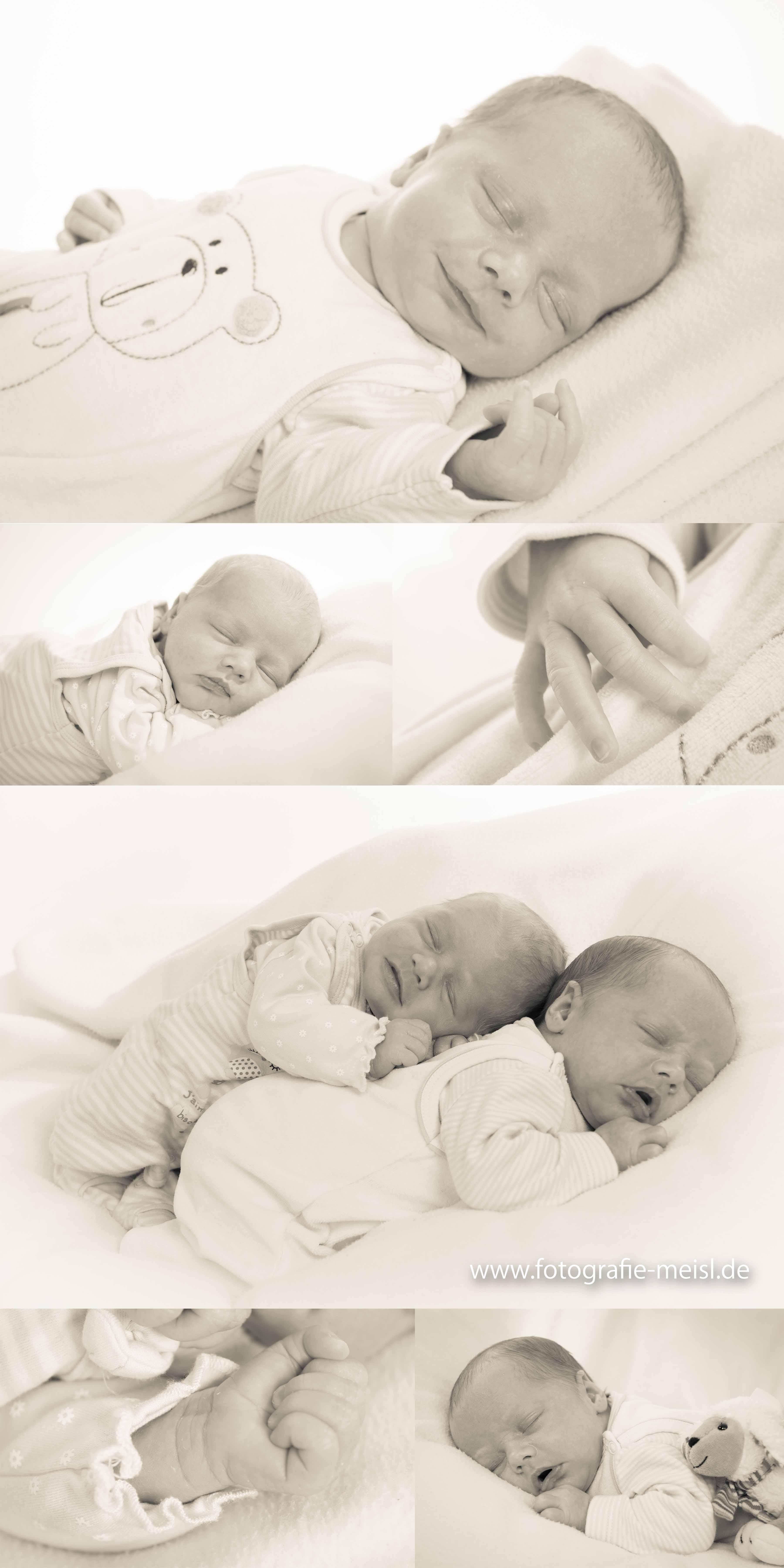 Zwillinge, Baby, Bilder