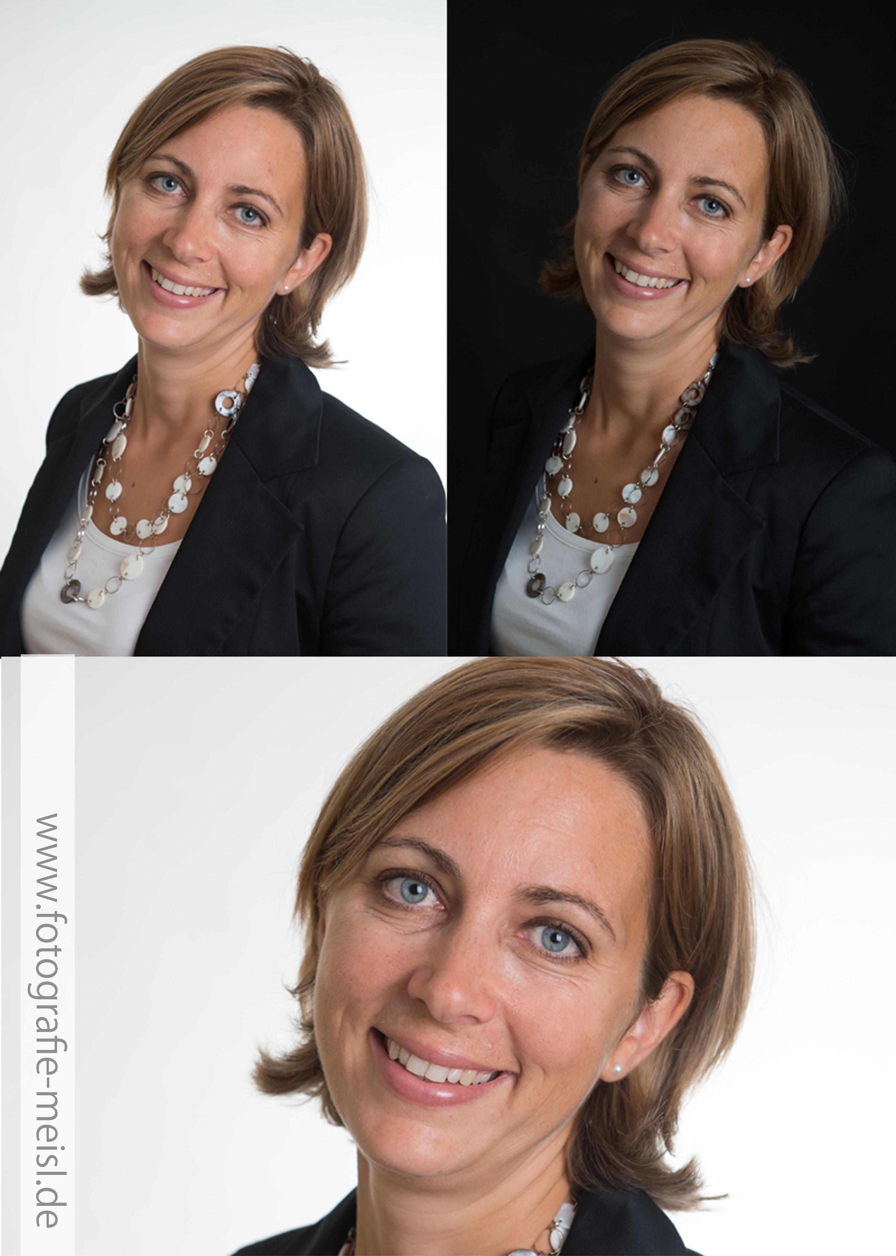 Bewerbungsfoto, Passbilder, Portrait