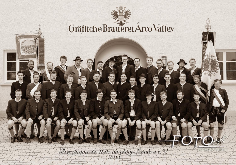 Burschenverein-Gruppenfoto-Vereinsfoto