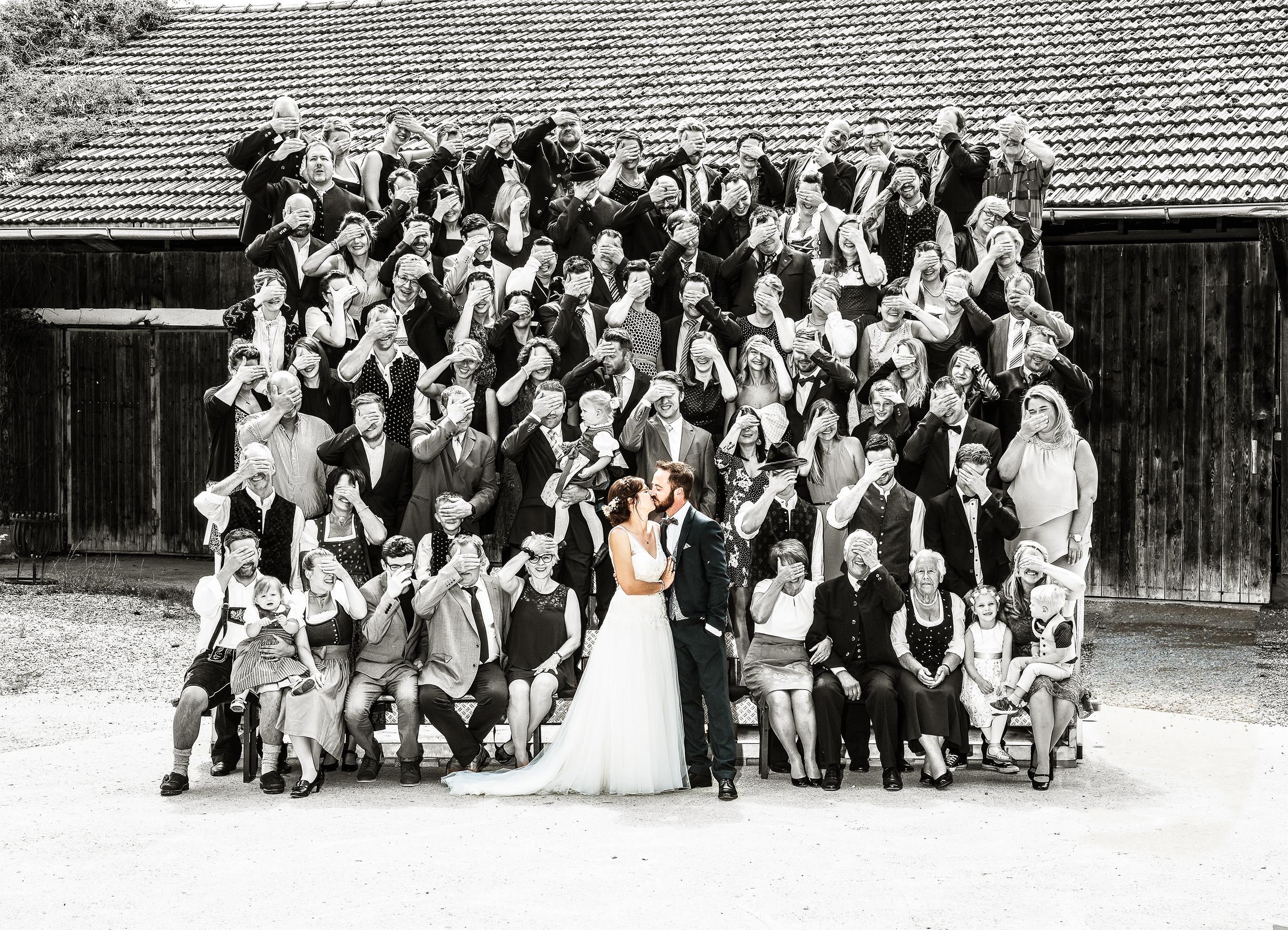 Gruppenbuidl-Hochzeit-modern