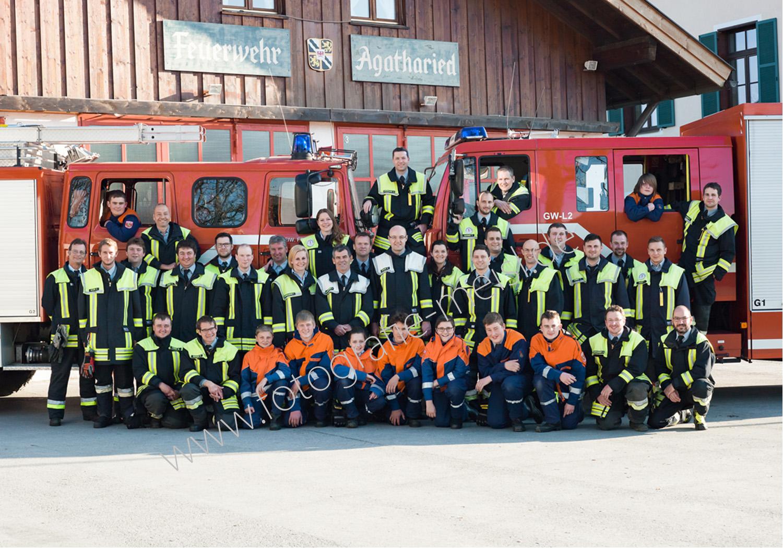 Gruppenbild Feuerwehr