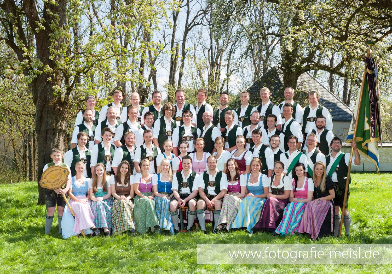 Gruppenfoto Burschenverein