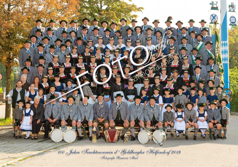 Trachtenvereins-Gruppenfoto