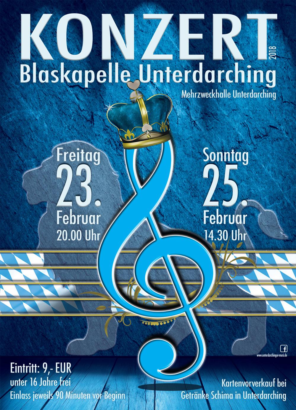 Plakat Unterdarchinger Musi